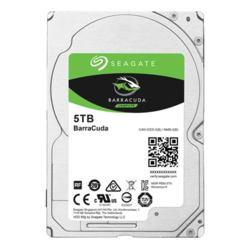 5TB BarraCuda ST5000LM000, 5400 RPM, SATA 6Gb/s, 128MB cache, 2.5-Inch HDD