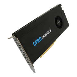 GPRO 8200, 8GB GDDR5, Graphics Card