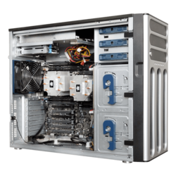 TS700-E8-RS8 V2, Tower, Intel C612, 8x SATA/SAS, 16x DDR4, Dual 1Gb Ethernet, 800W Rdt PSU