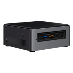"NUC7I7BNH, Intel Core i7-7567U, 2x DDR4 SO-DIMM, M.2, 2.5"" HDD/SSD, Intel Iris Plus Graphics 650, Mini PC Barebone"