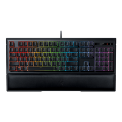 Ornata Chroma, Chroma RGB Backlighting, Fully Programmable Keys, Wired USB, Black, Retail Mecha-Membrane Gaming Keyboard