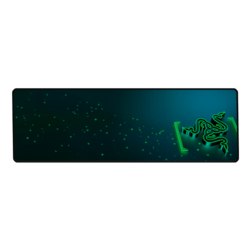 Goliathus Control Gravity Edition (Extended), Anti-slip rubber base, Blue-Green, Retail Gaming Mouse Mat
