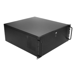 "DN-400-50R8PD8, 4x 5.25"" and 6x 3.5"" Drive Bays, 500W Rdt PSU, ATX, Black, 4U Chassis"