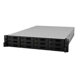 RackStation RS18017xs+, 2U NAS Server, Intel® Xeon® D-1531, 12x SAS/SATA, 4x DDR4 (16GB RDIMM Pre-installed), 4x 1Gb, 2x 10Gb Ethernet, 500W Rdt PSU