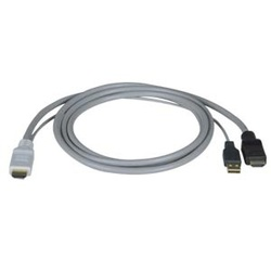 HDMI Male + USB Type A Male to HDMI Male, 6ft