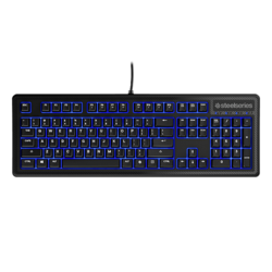 Apex 100, Blue LED lighting, Wired USB, Black, Retail Gaming Keyboard