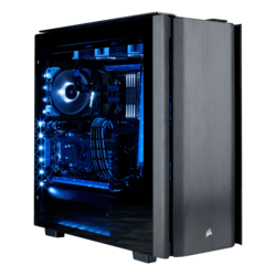 Hardline Liquid Cooled - AMD X470 CPU+GPU Hardline Liquid Cooled Gaming Desktop