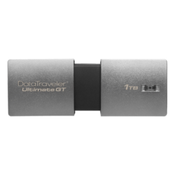DataTraveler Ultimate GT DTUGT/1TB, 1TB, USB 3.1 Flash Drive, Silver, Retail