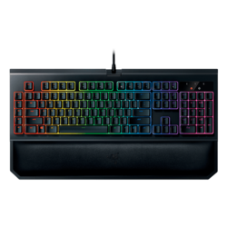 BlackWidow Chroma V2, Razer Chroma Backlighting, Fully Programmable Keys, Wired USB, Black, Retail Mechanical Gaming Keyboard