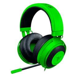 Kraken Pro V2 w/ Microphone, Stereo, 3.5mm, Green, Retail Gaming Headset