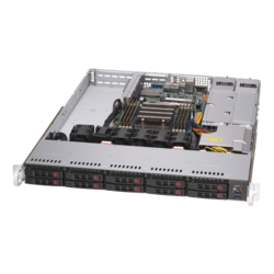 1U Rack Server - Supermicro A+ Server 1114S-WTRT, AMD EPYC™ 7002 Series Processor, SAS/SATA/NVMe, 1U Rackmount Server Computer