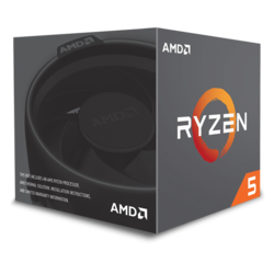 Ryzen™ 5 1600 6-Core 3.2 - 3.6GHz Turbo, AM4, 65W TDP, Retail Processor
