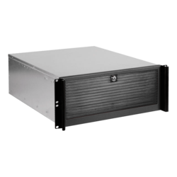 "D Value D-416-50R8PD2, 6x 5.25"" and 2x 3.5"" Drive Bays, 500W Rdt PSU, E-ATX, Black, 4U Chassis"