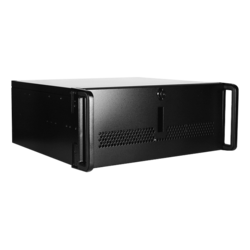 "E Storm Rugged E-40-50R8PD2, 2x 5.25"" and 3x 3.5"" Drive Bays, 500W Rdt PSU, ATX, Black, 4U Chassis"