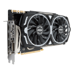 GeForce GTX 1080 Ti ARMOR 11G OC, 1531 - 1645MHz, 11GB GDDR5X, Graphics Card