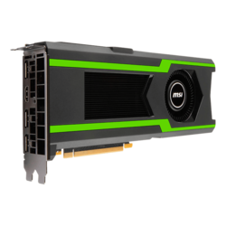 GeForce GTX 1080 Ti AERO 11G, 1480 - 1582MHz, 11GB GDDR5X, Graphics Card
