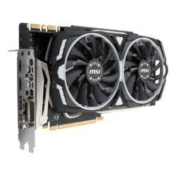 GeForce GTX 1080 TI ARMOR, 1480 - 1582MHz, 11GB GDDR5X, Graphics Card