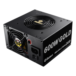 ERD600AWL-F, 80 PLUS Gold 600W, No Modular, ATX Power Supply