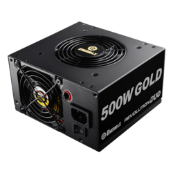ERD500AWL-F, 80 PLUS Gold 500W, No Modular, ATX Power Supply