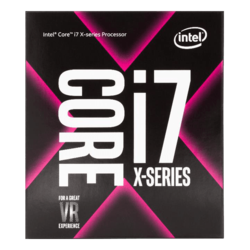 Core™ i7-7820X Eight-Core 3.6 - 4.3GHz Turbo, LGA 2066, 140W TDP, Processor
