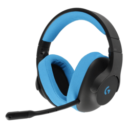 G233 Prodigy w/ Microphone, 3.5mm, Black/Blue, Retail Gaming Headset