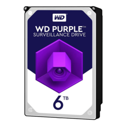 6TB Purple WD60PURZ, 5400 RPM, SATA 6Gb/s, 64MB cache, 3.5-Inch, OEM HDD