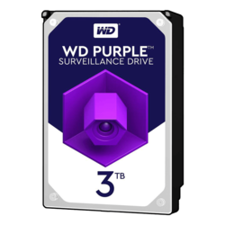 3TB Purple WD30PURZ, 5400 RPM, SATA 6Gb/s, 64MB cache, 3.5-Inch, OEM HDD