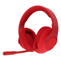 G433, 7.1 Surround Sound, 3.5mm/USB, Red, Gaming Headset
