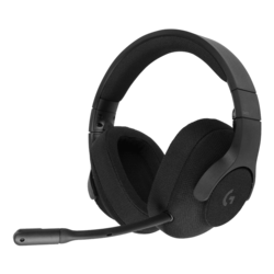 G433, 7.1 Surround Sound, 3.5mm/USB, Black, Gaming Headset