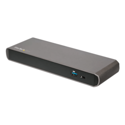 Dual 4K Monitor Thunderbolt 3 Dock with 3x USB 3.0 Ports