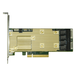 RSP3TD160F, SAS/SATA/PCIe (NVMe), 16-Port, PCIe 3.0 x8, Controller with 4GB Cache