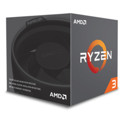 Ryzen™ 3 1200 Quad-Core 3.1 - 3.4GHz Turbo, AM4, 65W TDP, Processor