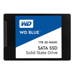 1TB WD Blue 7mm, 560 / 530 MB/s, 3D NAND, SATA 6Gb/s, 2.5-Inch Retail SSD