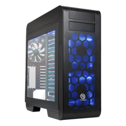 Core Series V71 Tempered Glass, No PSU, E-ATX, Black, Full Tower Case