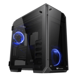 View Series 71 Tempered Glass, No PSU, E-ATX, Black, Full Tower Case