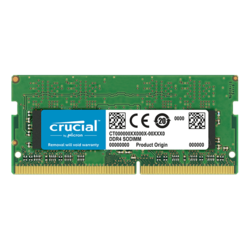 16GB DDR4 2666MHz, CL19, SO-DIMM Memory