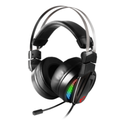Immerse GH70, RGB LED, Virtual 7.1 Surround Sound, USB, Black, Gaming Headset