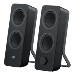 Z207, 2.0 (2 x 5W), w/ Bluetooth 4.1, Black, Speaker System