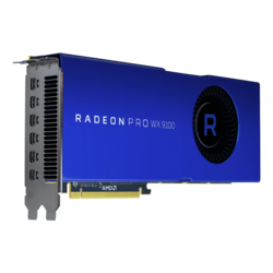 Radeon Pro WX 9100, 1500MHz, 16GB HBM2, Graphics Card