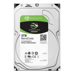3TB BarraCuda ST3000DM007, 5400 RPM, SATA 6Gb/s, 256MB cache, 3.5-Inch HDD