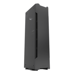 Enthoo Series Evolv Shift X Tempered Glass, No PSU, Mini-ITX, Black, Mini Tower Case