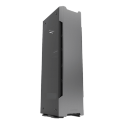 Enthoo Series Evolv Shift X Tempered Glass, No PSU, Mini-ITX, Grey, Mini Tower Case