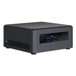 "NUC7i3DNHE, Intel Core i3-7100U, 2x DDR4 SO-DIMM, M.2, 2.5"" HDD/SSD, Intel HD Graphics 620, Mini PC Barebone"