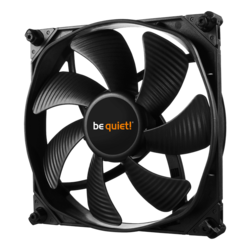 SILENT WINGS 3 140mm HIGH-SPEED, 1600 RPM, 77.57 CFM, 28.1 dBA, Cooling Fan