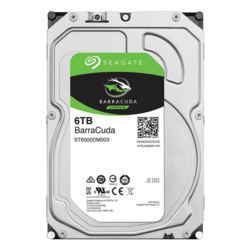 6TB BarraCuda ST6000DM003, 5400 RPM, SATA 6Gb/s, 256MB cache, 3.5-Inch HDD