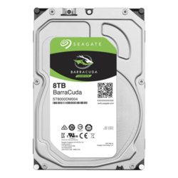 8TB BarraCuda ST8000DM004, 5400 RPM, SATA 6Gb/s, 256MB cache, 3.5-Inch HDD