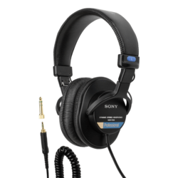 MDR7506, 3.5mm/6.35mm, Black, Professional Headphones