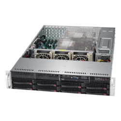 SuperServer 6029P-TR, 2U, Intel C621, 8x SATA, 16x DDR4, Dual 1Gb Ethernet, 1000W Rdt PSU