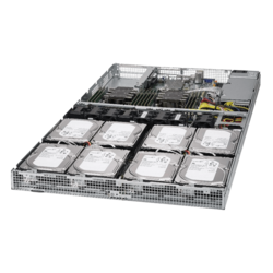 1U Rack Server - Supermicro SuperServer 6019P-WT8 Dual Intel® Xeon® Scalable SAS/SATA 1U Rackmount Server Computer