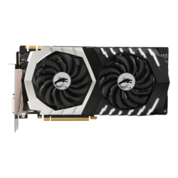 GeForce GTX 1070 Ti TITANIUM 8G, 1607 - 1683MHz, 8GB GDDR5, Graphics Card